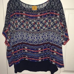 Ruby Rd. multicolor blouse